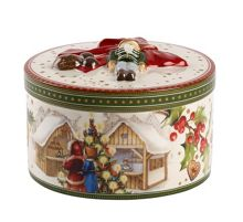 Villeroy & Boch Medium round christmas market ornament