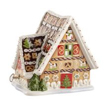 Villeroy & Boch Gingerbread house musical ornament