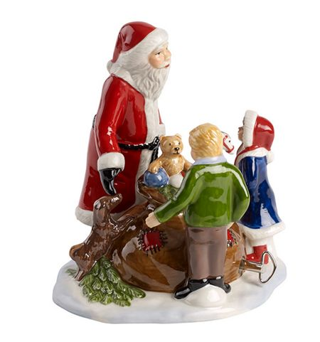 Villeroy & Boch Santa with children ornament