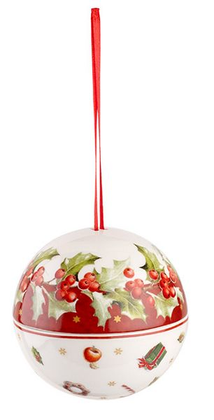 Villeroy & Boch Christmas ball ilex hanging ornament