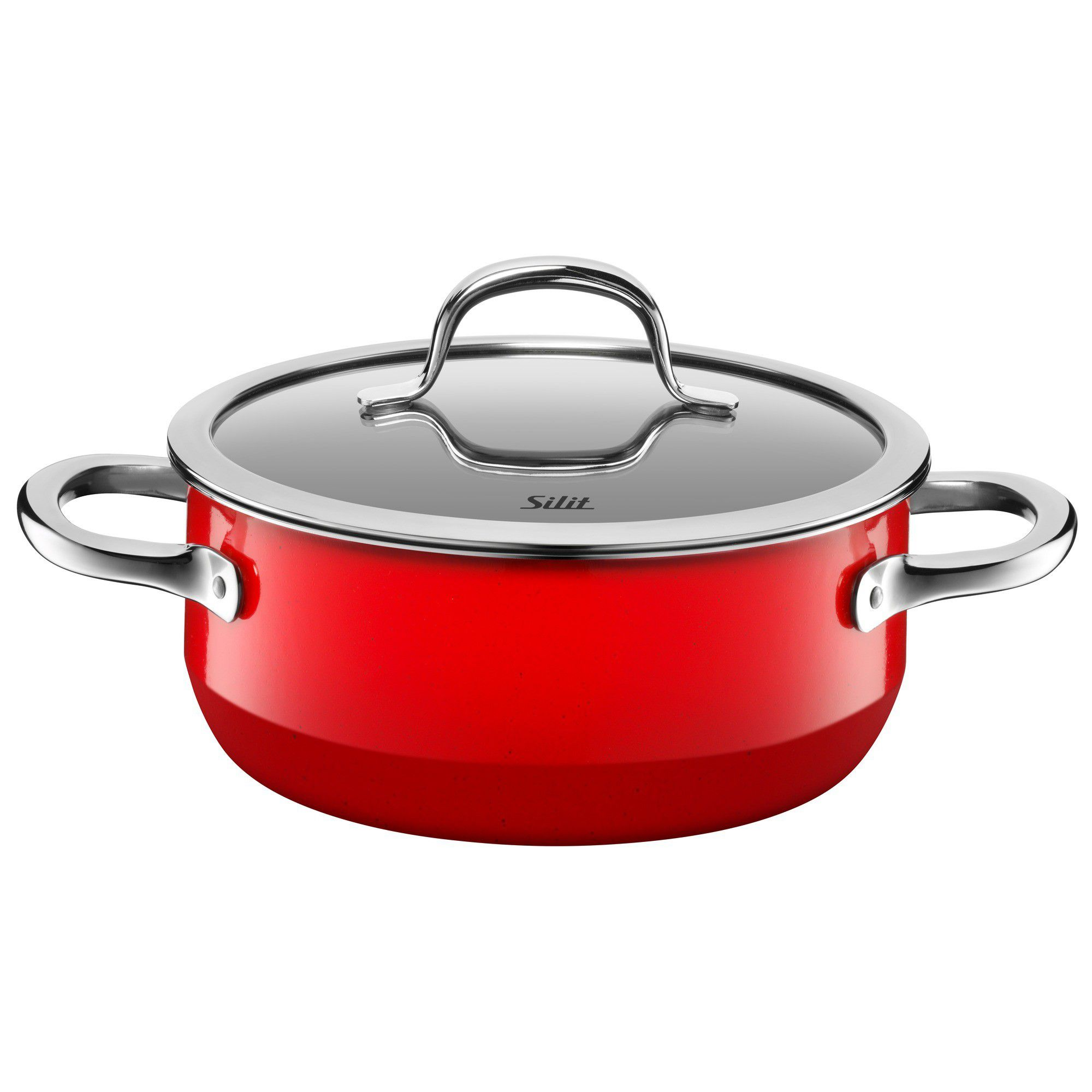 Image of Silit Passion Red Low casserole w.l. 20cm