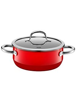 Passion Red Low casserole w.l. 20cm