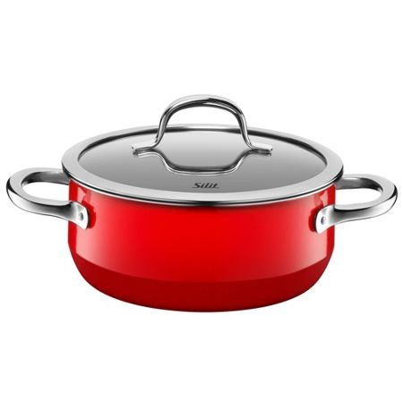 Silit Passion Red Low casserole w.l. 20cm