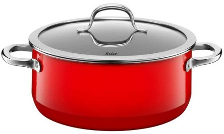 Silit Passion Red Low casserole w.l. 24cm