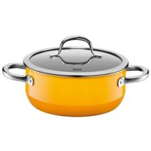 Silit Passion Yellow Low casserole w.l. 20cm