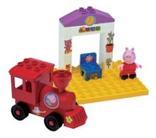 PlayBig Blox Train Stop Construction Set