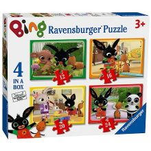 Bing Bunny 4 Puzzles in a Box