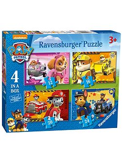 Paw Patrol 4 In a Box Puzzle
