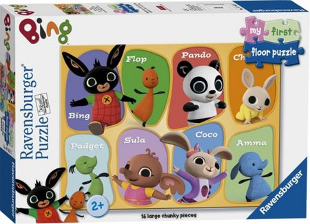 Bing Bunny My First Puzzle - 16 Pieces
