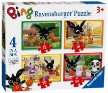 Bing Bunny 4 in a Box Puzzle