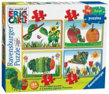 The Very Hungry Caterpillar My First Puzzles, 2, 3, 4 & 5pc