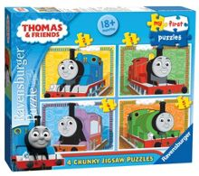Ravensburger Thomas first Puzzle 07304