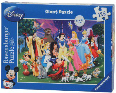 125pc Disney Giant Puzzle 09753