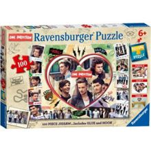 One Direction 100 Piece 2 in 1 Puzzle