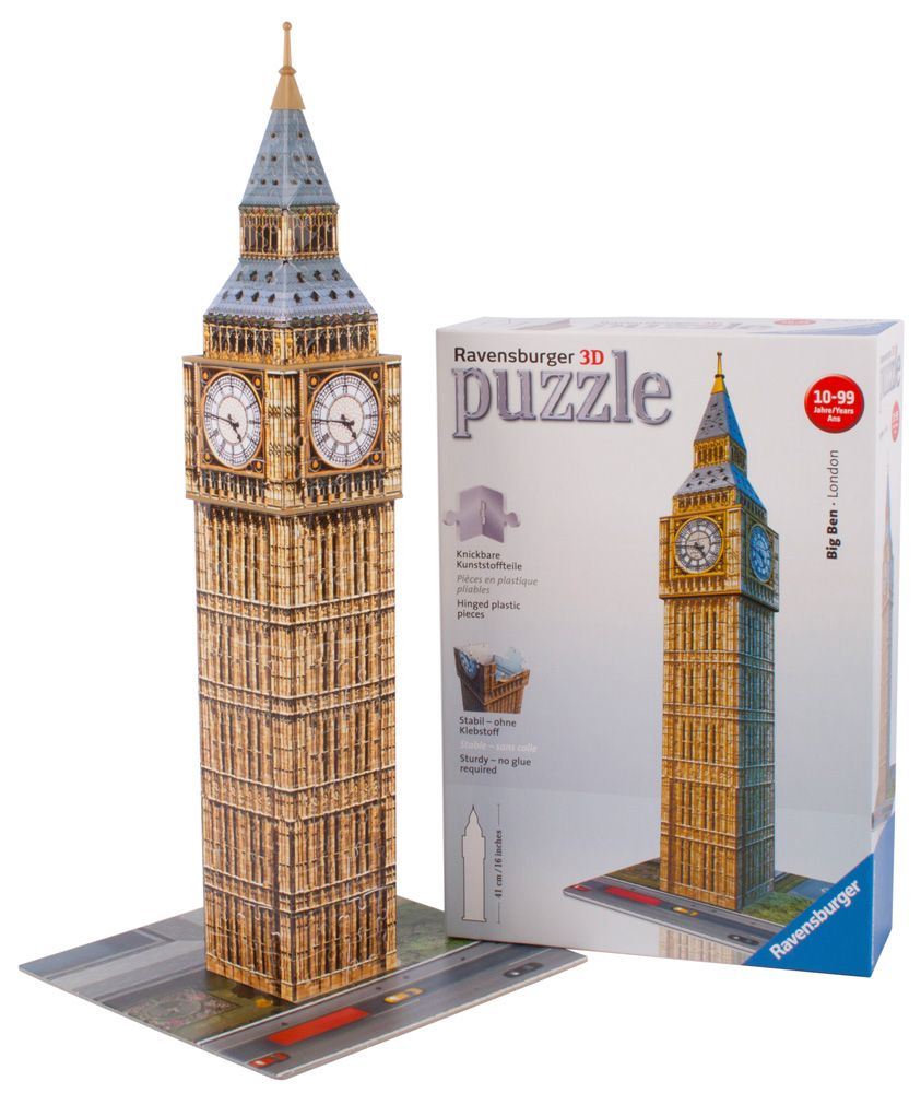 Ravensburger Ravensburger Big Ben 3D Puzzle - 216 Pieces