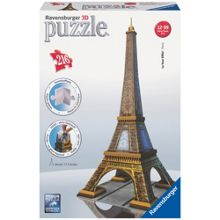 Ravensburger Eiffel Tower Building 216 Piece 3D Puzzl