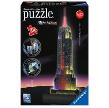Ravensburger Empire state building 3d puzzle