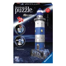 Ravensburger Night Edition Lighthouse 216 Piece 3D Pu