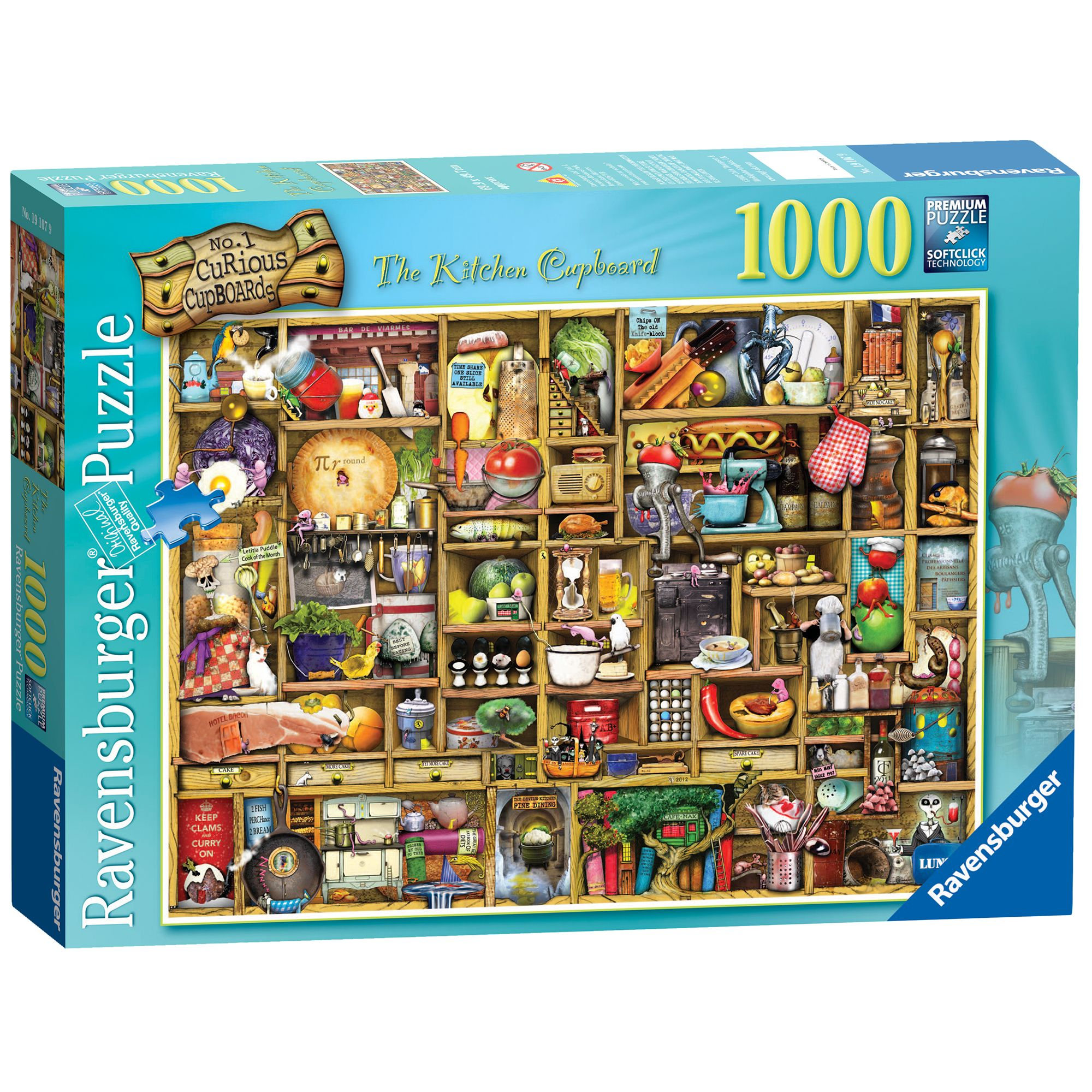 Image of Ravensburger The Curious Kitchen Cupboard 1000pc Puzzle