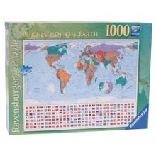 Ravensburger ortrait Of The Earth 1000 Piece Puzzle