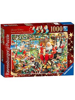 Limited Edition Santa 1000pc Puzzle