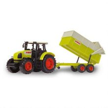 Dickie CLAAS Tractor and Trailer Set