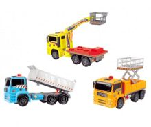 Air Pump Workers Action Truck