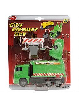 City cleaner vehicle set