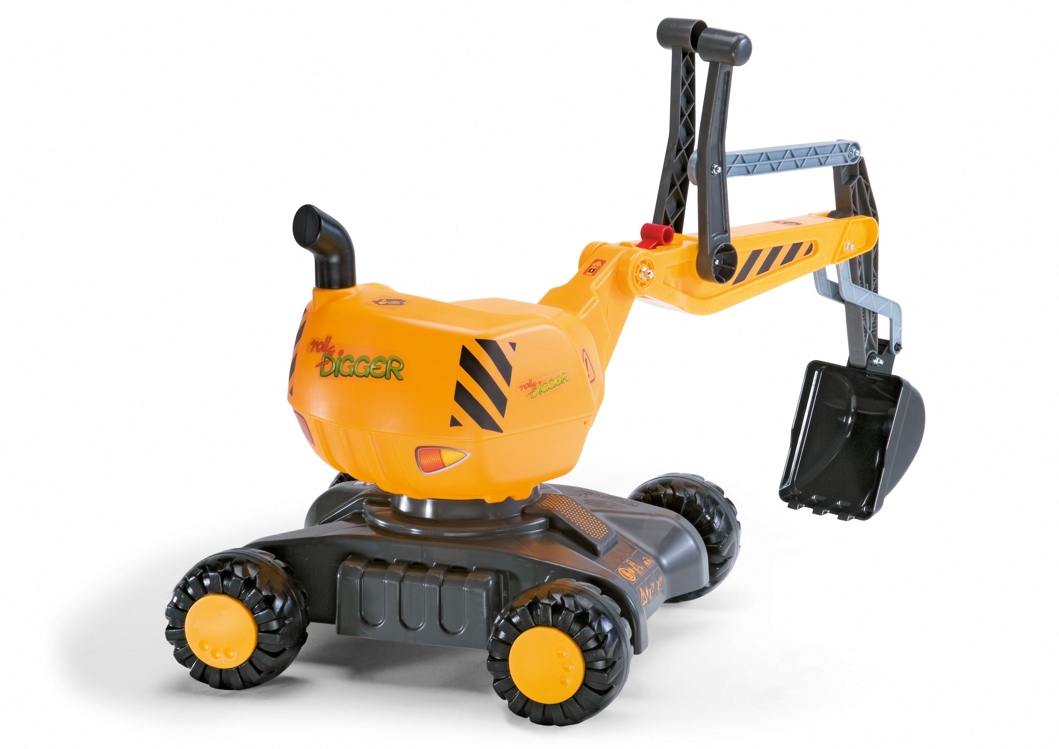 Mobile 360 Degree Excavator