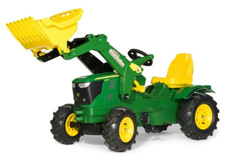 Rolly John Deere 6210R With F/loader Pneumatic Tyres