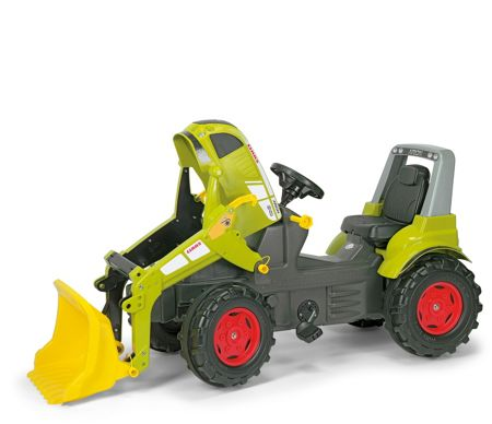 Rolly Claas Arion 640 With Rolly Trac Loader