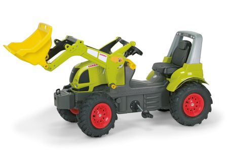 Rolly Claas Arion 640 with Pneumatic Tyres & F/Loader
