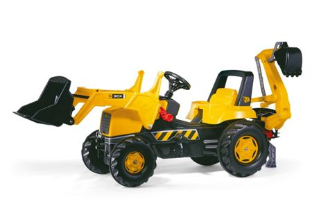 Rolly CAT Tractor with F/loader & Rear Excavator