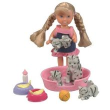 Evi animal friends doll