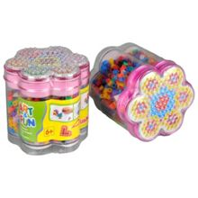 Art & Fun Ironing Beads In Flower Case Set