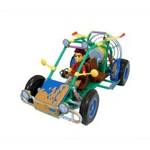 Dune buggy with matt figure