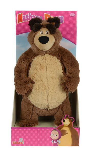 Masha and The Bear 35cm Soft Toy