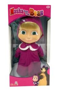 Masha and The Bear Winter Masha Doll
