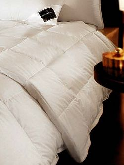 Chalet goose down single ultra light duvet