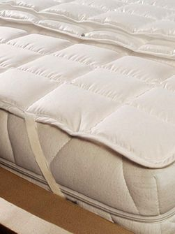 Morpheus® Cotton 95°C cotton single mattress pad