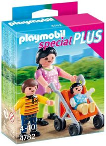 Playmobil Mother with Children Figures