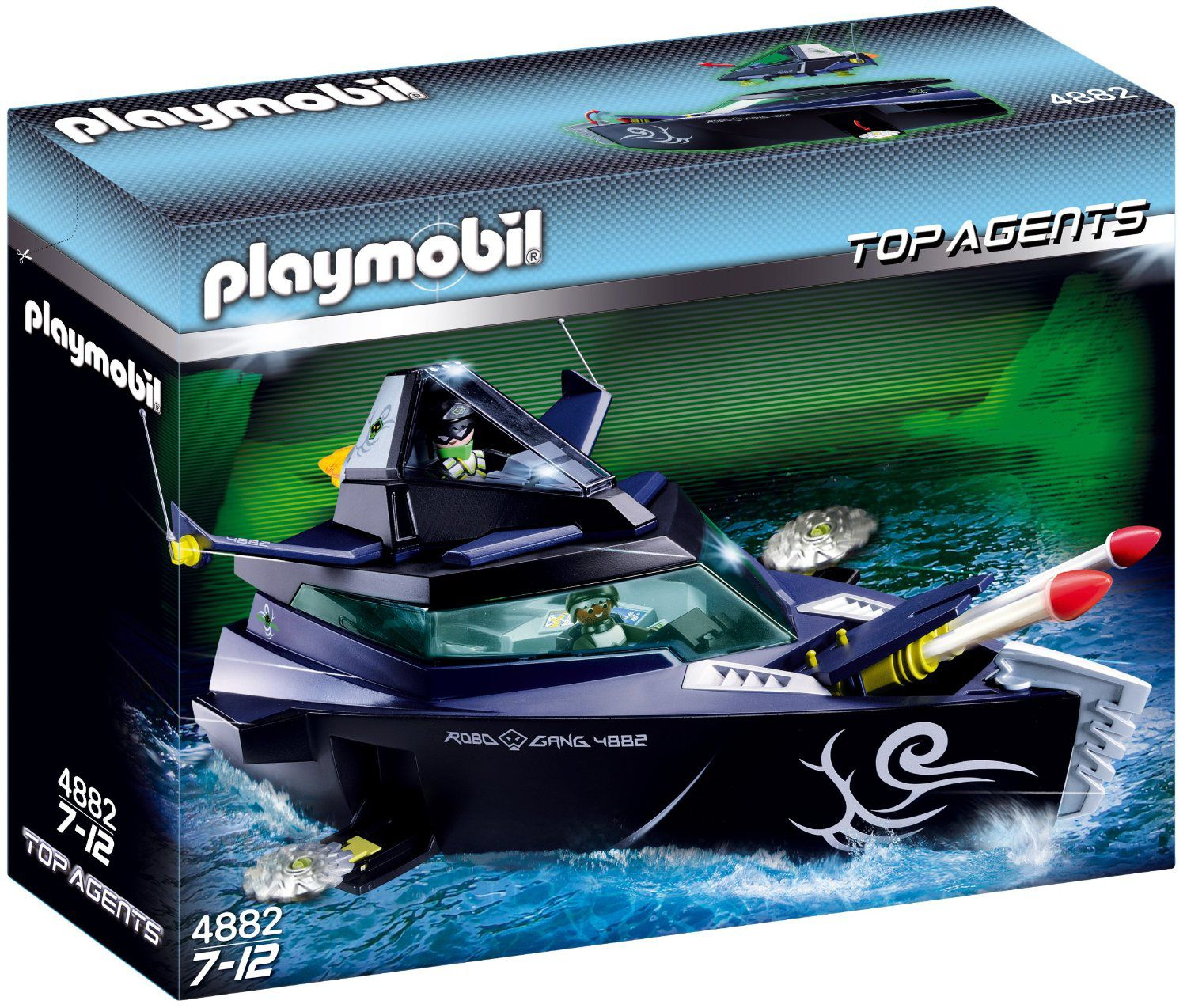 Playmobil Robo Gang Battle Yacht