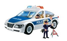 Playmobil Police Car with Flashing Lights 5184