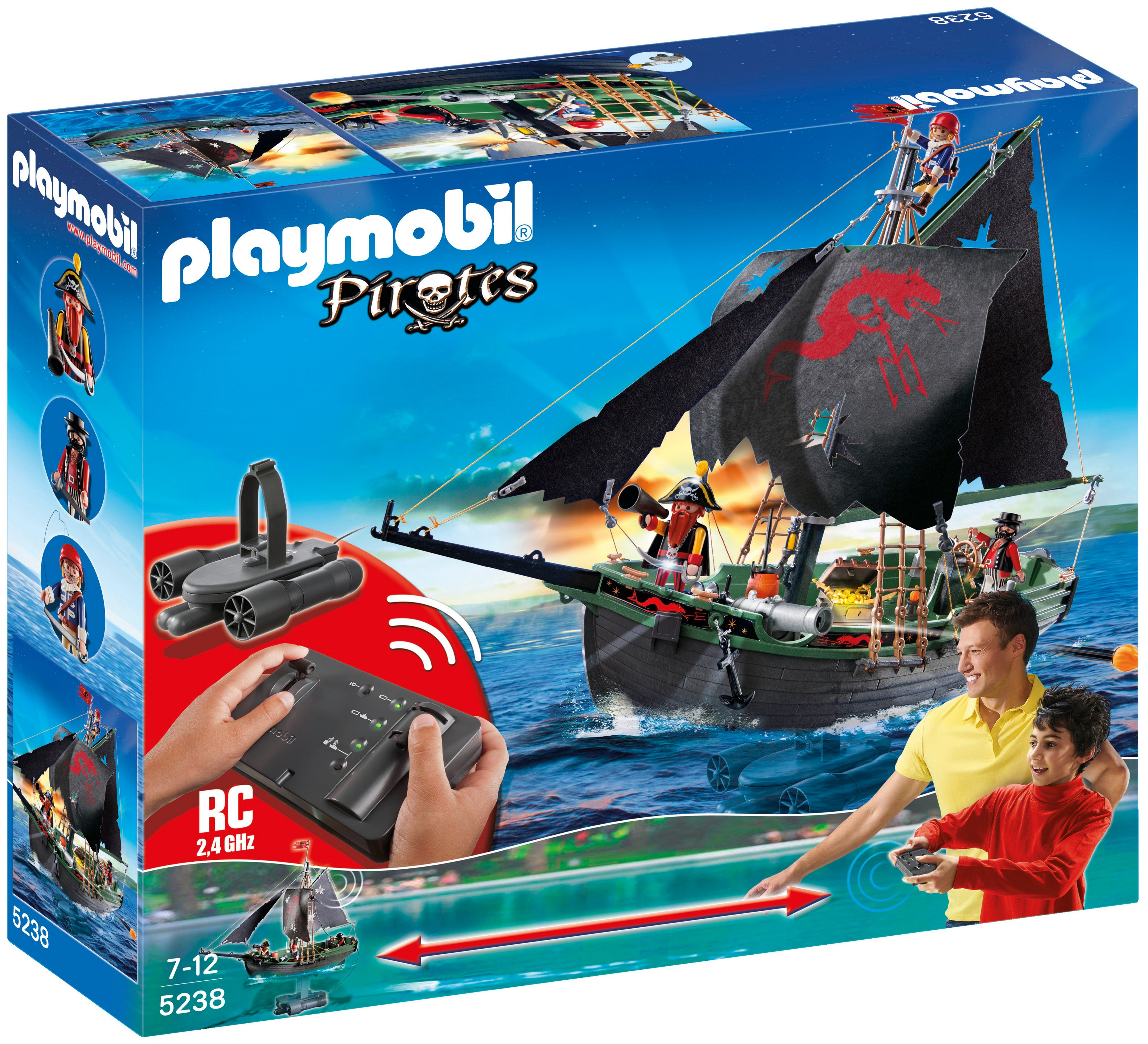 RC Pirate Ship