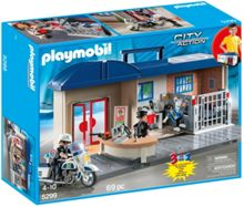 Playmobil City Action Take Along Police Station