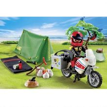 Playmobil Biker at campsite 5438