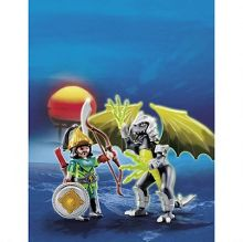 Playmobil Storm dragon with warrior 5465
