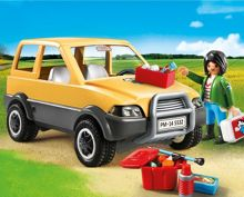 Playmobil City Life Vet with Car 5532