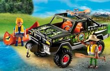 Playmobil Wildlife Adventure Pickup Truck 5558