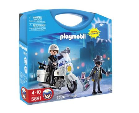 Playmobil Police Carry Case 5891